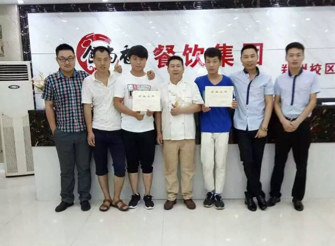 郑州校区学员毕业照片