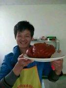 北京烤鸭培训学员石先生作品