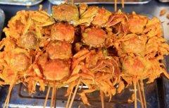 炸螃蟹培训学员阮女士作品
