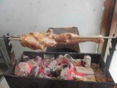 烤羊腿培训学员裴先生作品