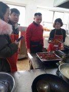 重庆烤鱼培训实景图
