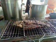 巫溪烤鱼培训实景图