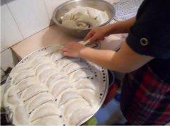 饺子粑培训实景图