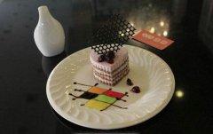 慕斯蛋糕培训学员陈女士作品
