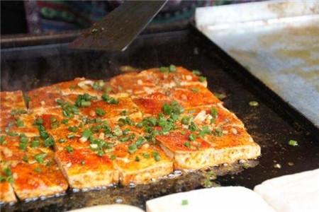 最热门的摆摊小吃铁板豆腐能教吗