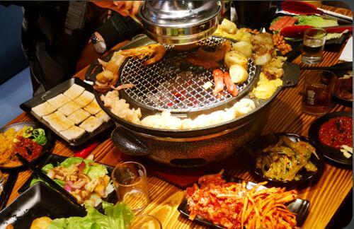 在那里可以学到韩式烧烤